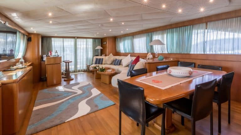 Superyacht For Sale with Interior Design