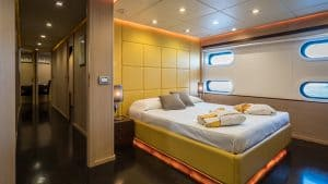 Sailing Yacht for Charter Interior