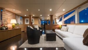 Luxury Motor Yacht for Charter Interior