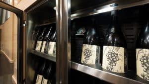Luxury Yacht Wine Cellar
