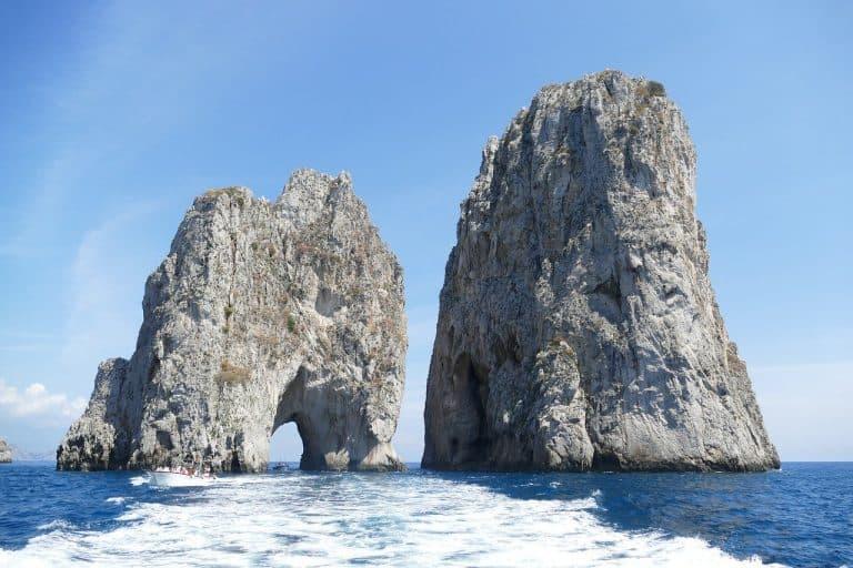 Capri and Procida on the Amalfi Coast